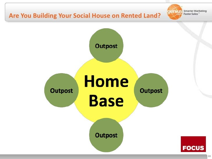 Are You Building Your Social House on Rented Land?<br />