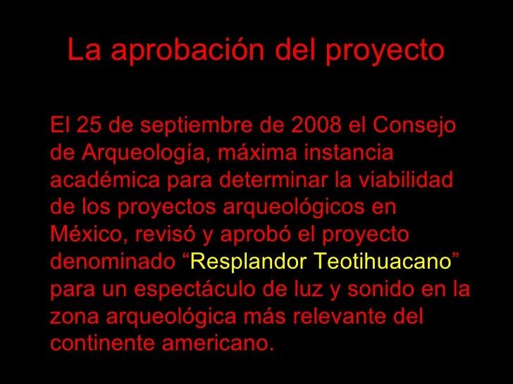 Destrucci n en teotihuacan for Espectaculo de luz y sonido en teotihuacan