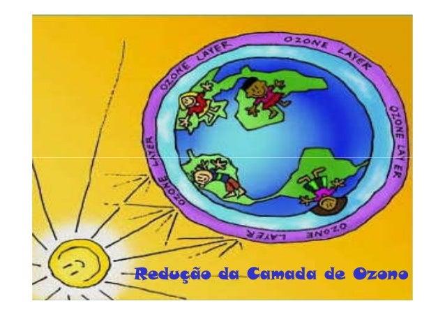 Redução da Camada de Ozono