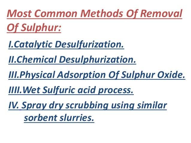 Desulfurization Slide 2