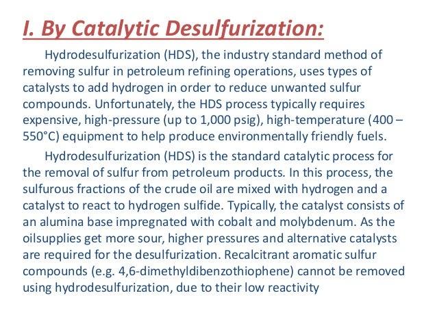 Desulfurization Slide 3
