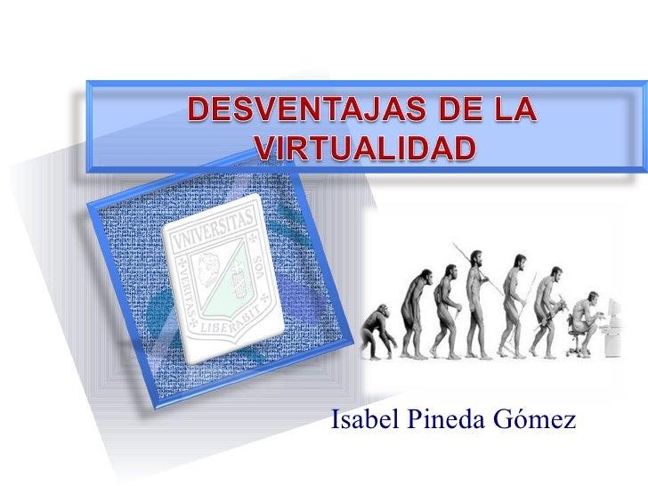 Isabel Pineda Gómez
