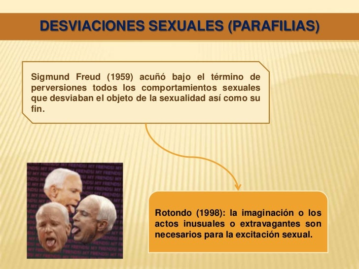 Desviacion sexual