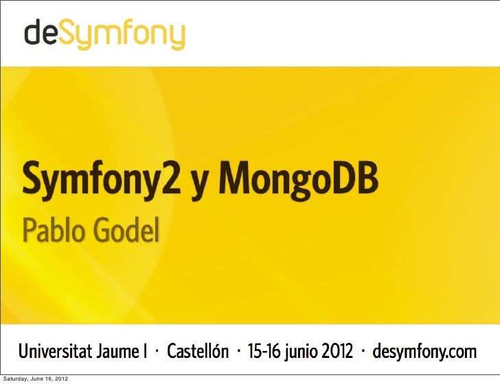 How to configure Monolog to store logs into MongoDB with Symfony2 and Doctrine