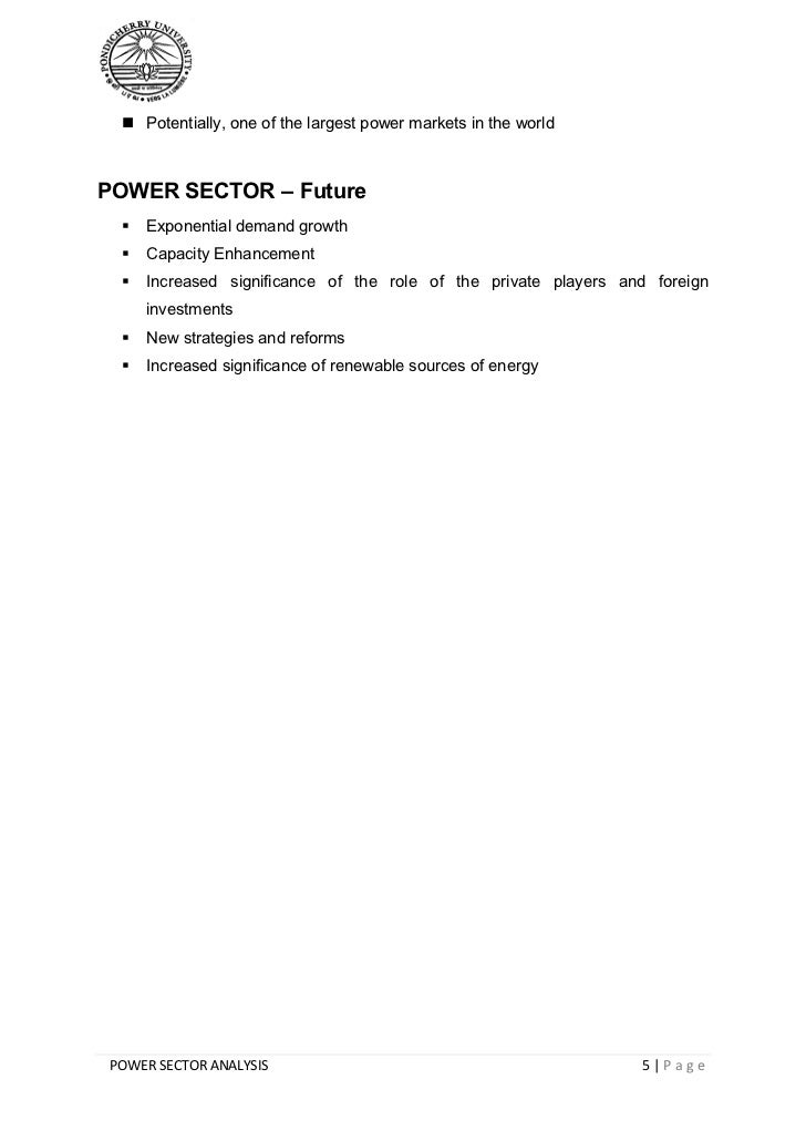 Detailed analysis of power plant equipments