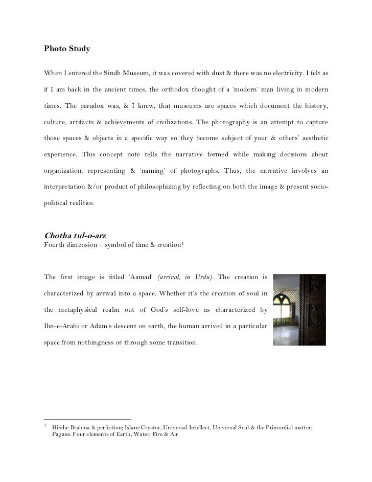 Detailed Concept Note | Museum Diaries