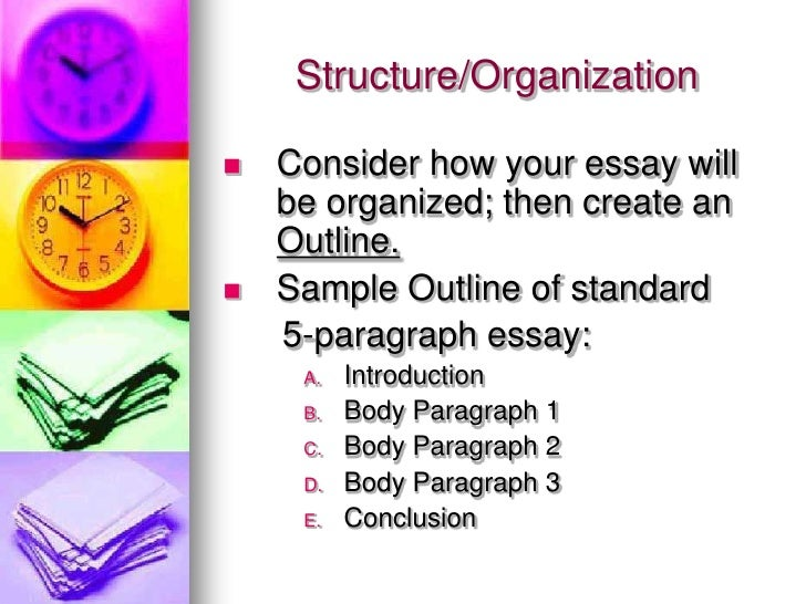 detailed overview of writing process structure organization  consider how your essay