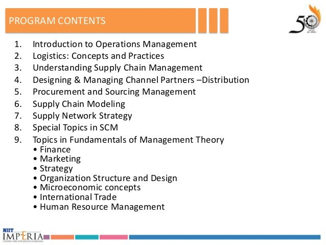Operations and Supply Chain Management at Warp Speed