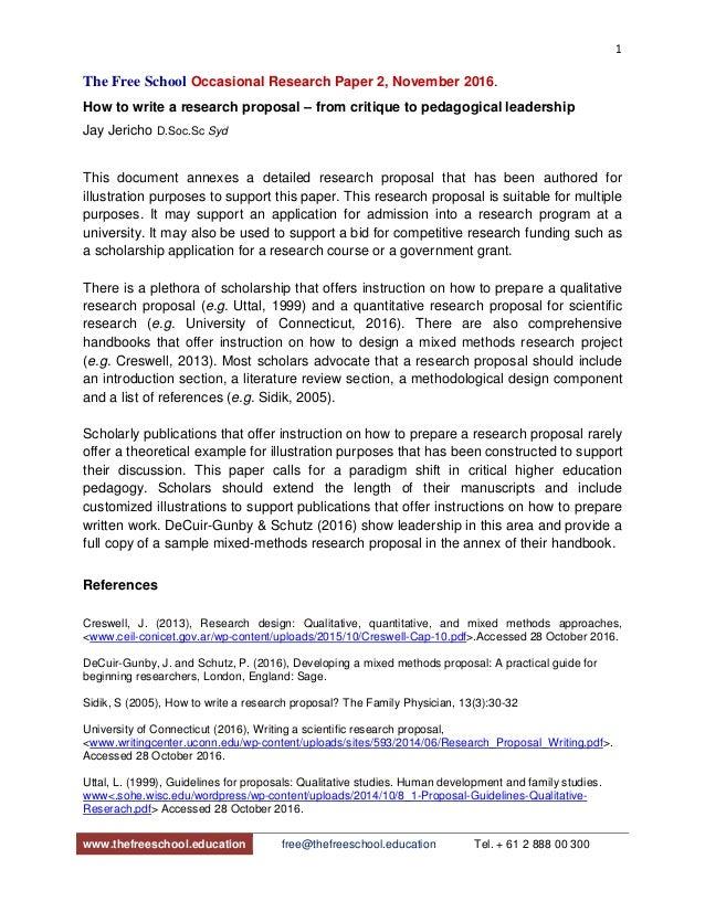 biology research proposal sample pdf