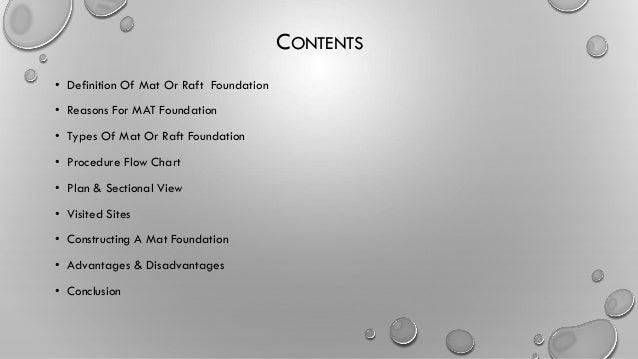 types of mat foundation pdf