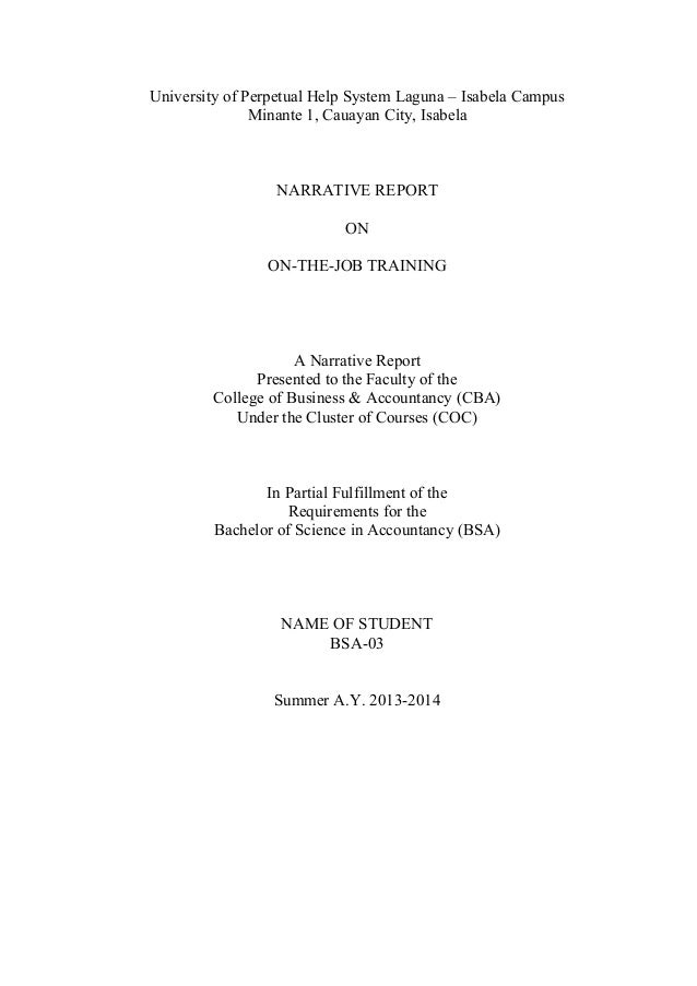 off campus narrative report Neasc/cihe pp51a review of off-campus sites at the time of the interim report new england association of schools and colleges.