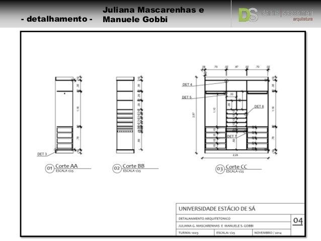 Detalhamento  Mobiliário -> Armario De Banheiro Dwg