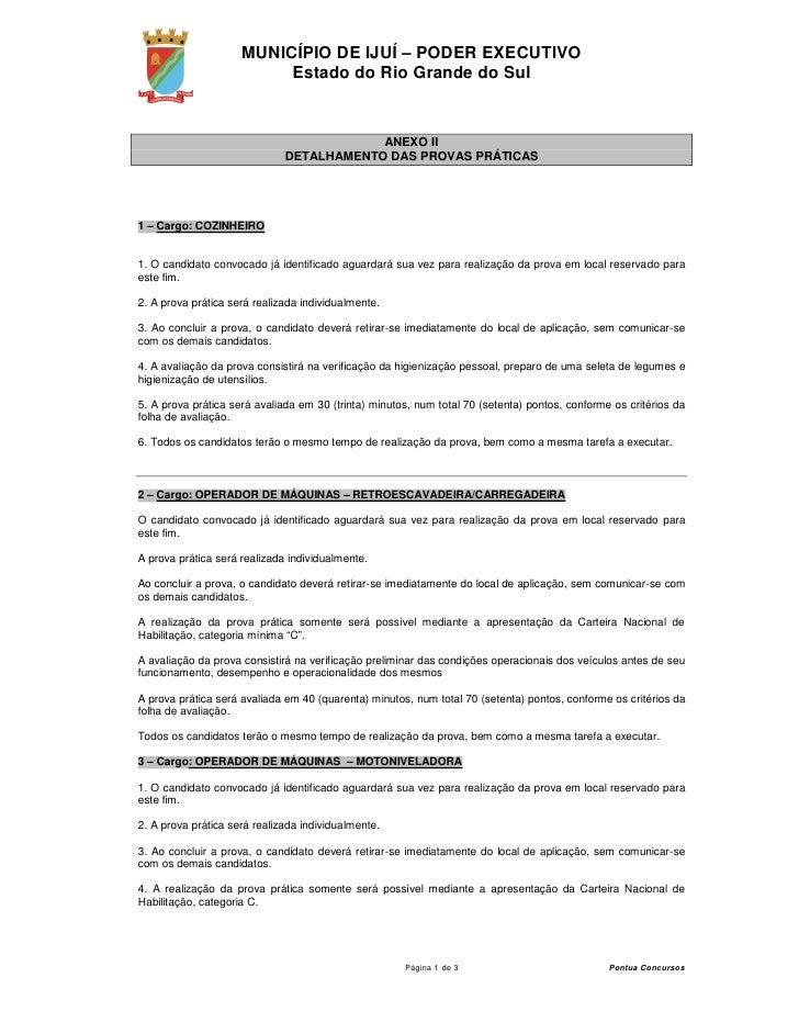 MUNICÍPIO DE IJUÍ – PODER EXECUTIVO                           Estado do Rio Grande do Sul                                 ...