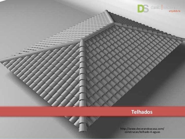 Fabuloso Detalhamento de Telhado UT87