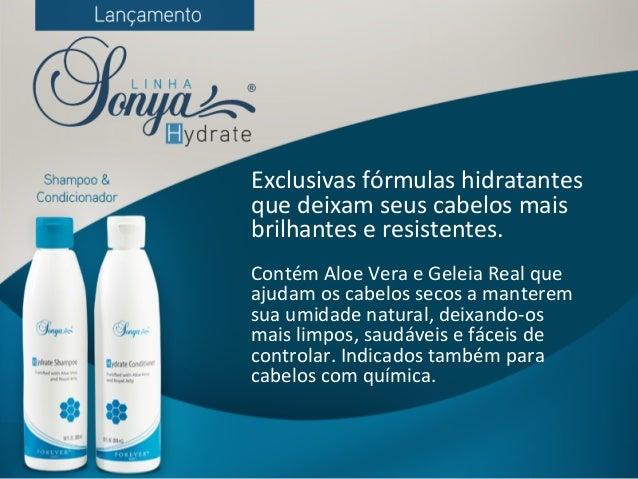 Exclusivas  fórmulas  hidratantes   que  deixam  seus  cabelos  mais   brilhantes  e  resistentes.  ...