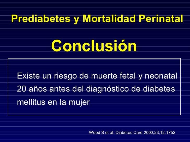 Deteccion de la diabetes en el embarazo