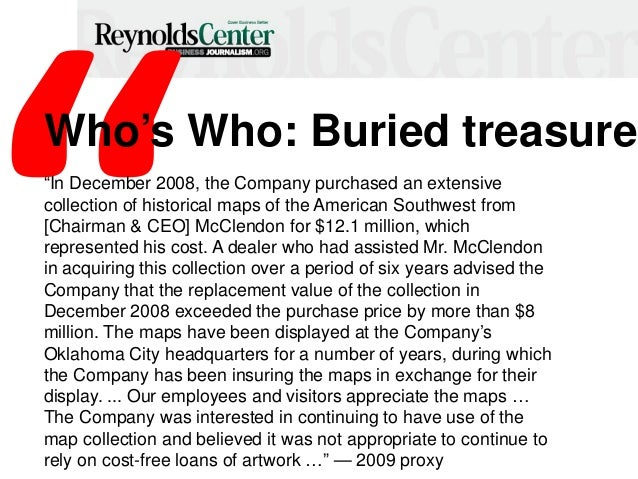"""Who's Who: Buried treasure """"In December 2008, the Company purchased an extensive collection of historical maps of the Amer..."""
