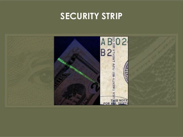 how to detect counterfeit currency