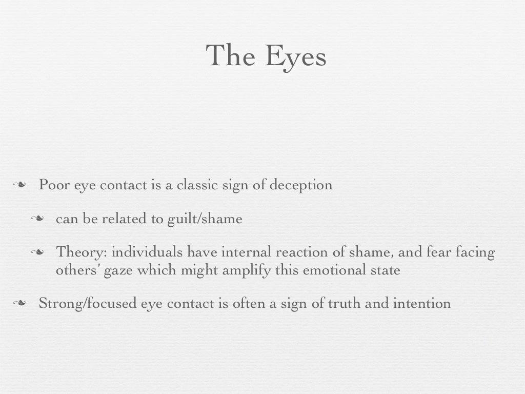 The Eyes Poor eye