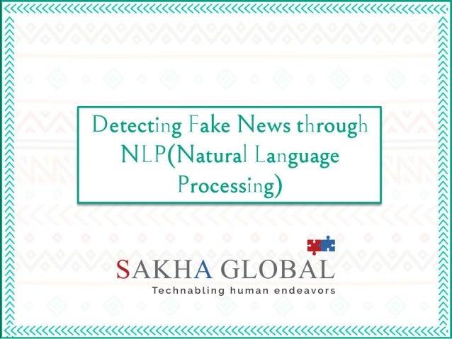 Detecting Fake News Through NLP