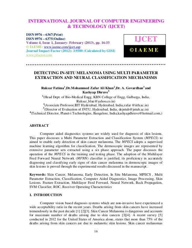 INTERNATIONAL JOURNAL OF COMPUTER(IJCET), ISSN 0976 –  International Journal of Computer Engineering and Technology ENGINE...