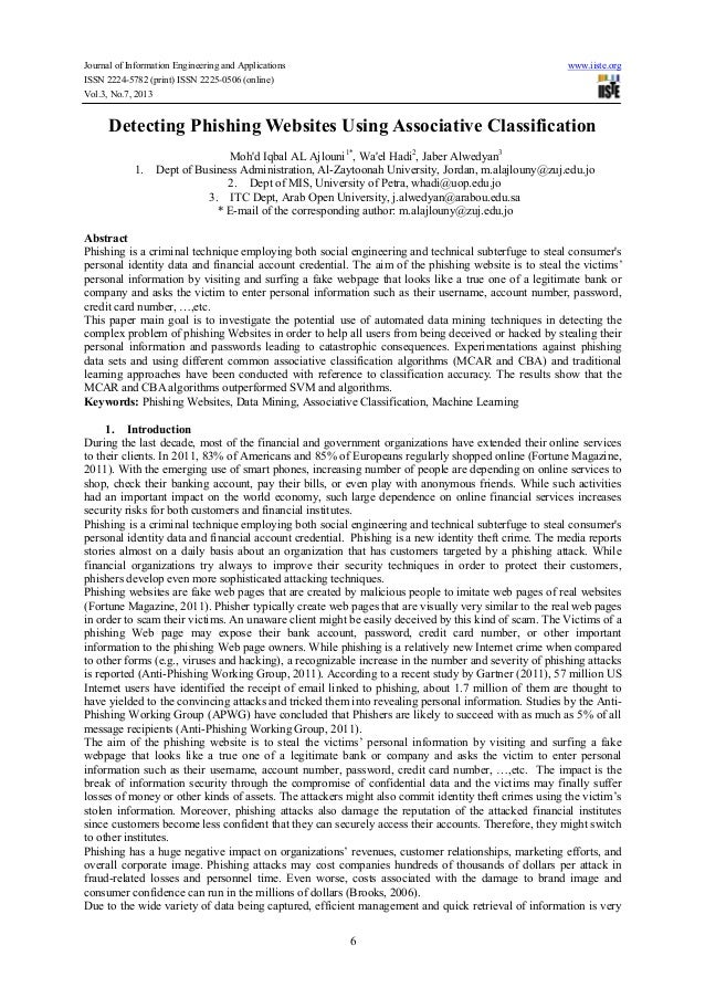 Journal of Information Engineering and Applications www.iiste.org ISSN 2224-5782 (print) ISSN 2225-0506 (online) Vol.3, No...