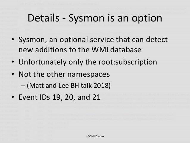 Detecting WMI Exploitation v1 1