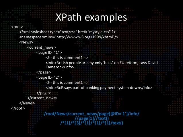 Namespace In Xpath