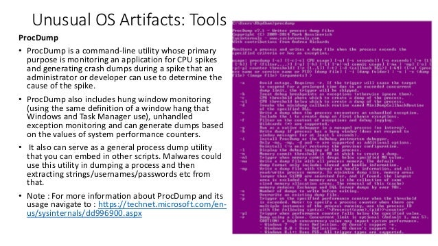 Anomalies Detection: Windows OS - Part 1