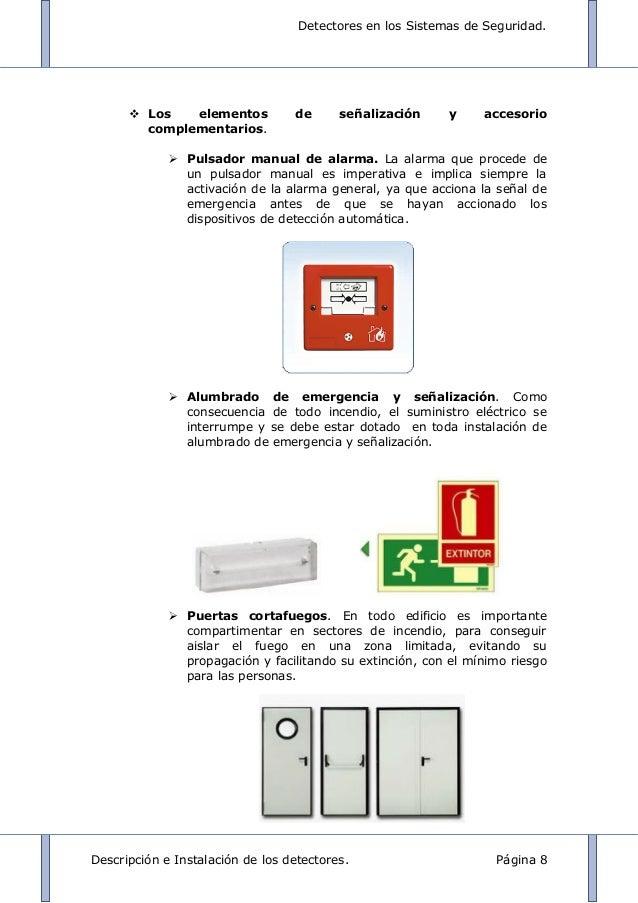 Detectores en los sistemas de alarma for Sistema de alarma