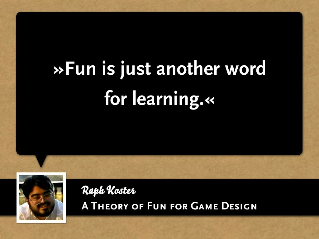 Fun is just another word