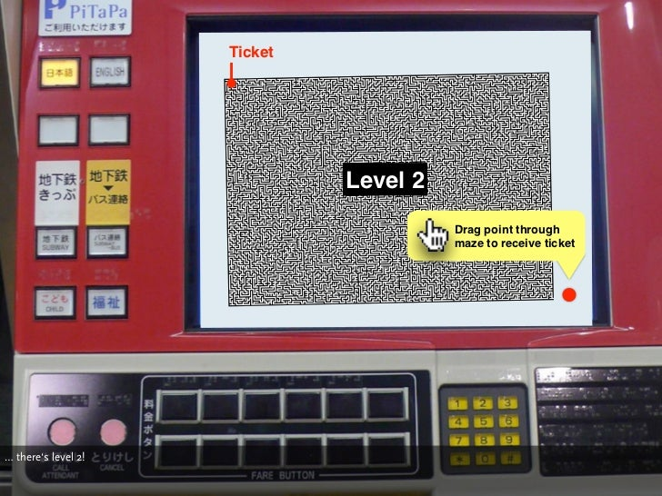 Ticket                                   Level 2                                         Drag point through               ...