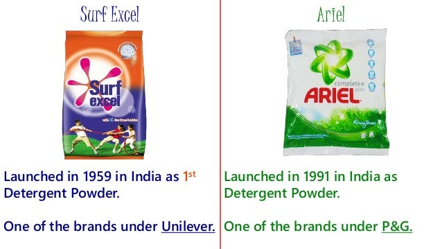nirma vs surf excel Here is the marketing mix of surf excel which is a home care brand associated with fmcg sector it is a subsidiary of its parent company unilever  nirma product .