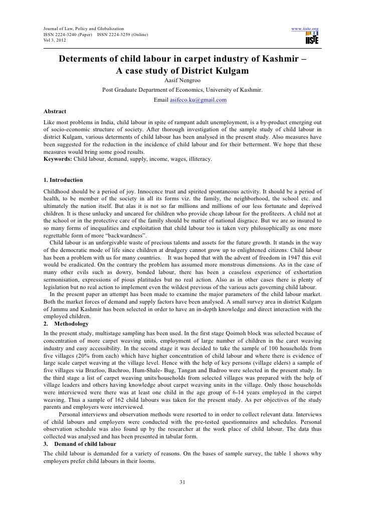 Journal of Law, Policy and Globalization                                                              www.iiste.orgISSN 22...
