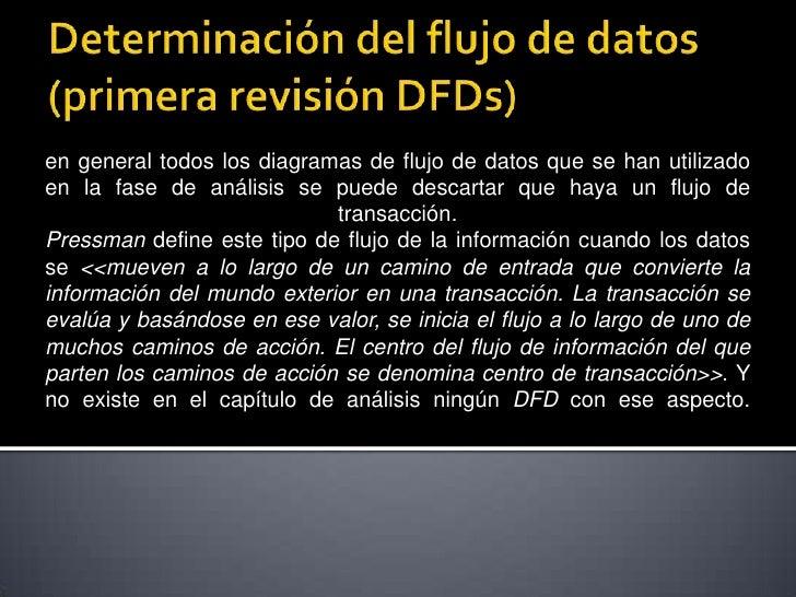 Determinación del flujo de datos Slide 2