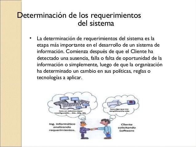 Requerimientos de un sistema de informacion