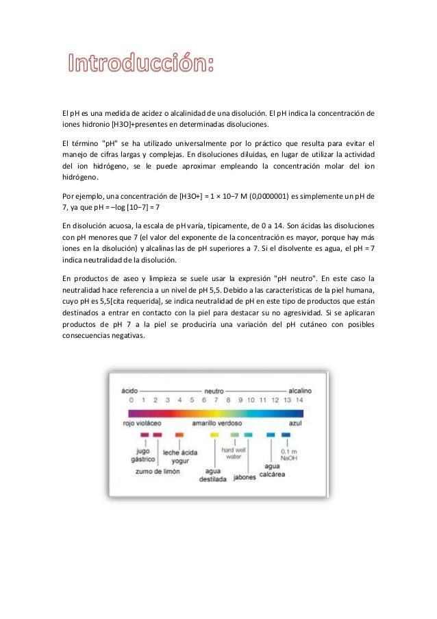 Determinacion de ph bioquimica Slide 2