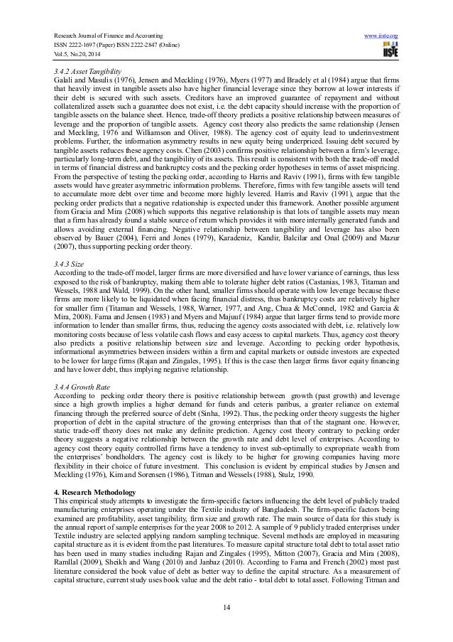determinants of capital structure of listed Since this is the first examination of its type, the aim of this study is to develop some preliminary groundwork that a more detailed evaluation could be based it is hoped to answer the question whether, and how closely, does the determinants of chinese capital structure support the western finance theory more specifically: 1.