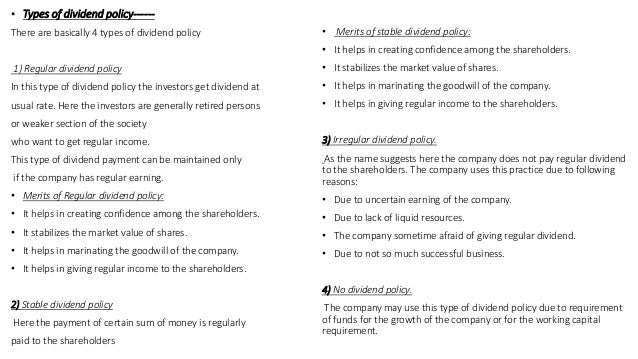 Determinants of corporate dividend payout policy