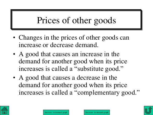 The change in the demand of soda and the increase in demand of substitute goods