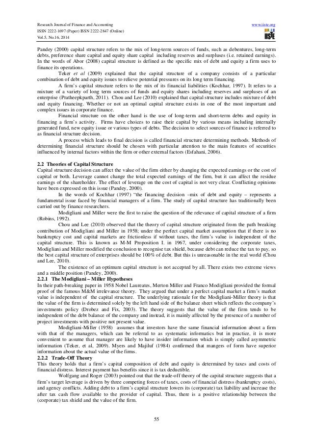 review on the capital structure debate finance essay Finance dissertation topic examples finance deals with allocation and managing of it guides you to creating the perfect finance dissertation title as it is the first step towards creating the perfect essay or report that needs to be corporate strategy and capital structure.