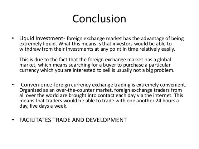 foreign exchange traders