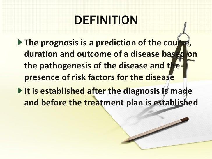 Determination of prognosis Slide 3