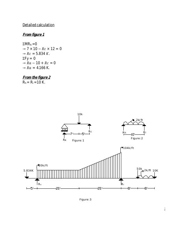 Determine bending moment and share force diagram of beam 4 detailed calculation ccuart Gallery