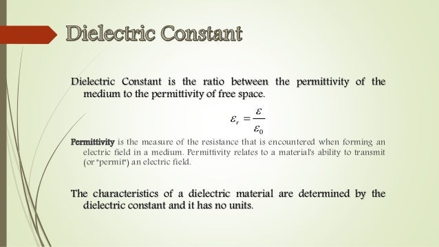 dielectric constant of paper Physics resources database electrical, magnetic & optical properties permittivity, e dielectric constant - relative permittivity k e = e / e o permittivity of.