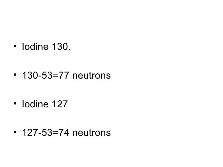 how to find protons and neutrons in an isotope