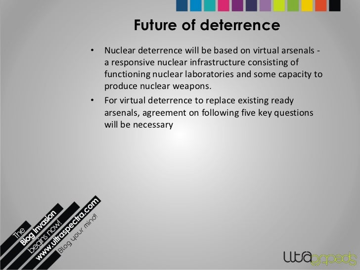 The Future of Nuclear Deterrence