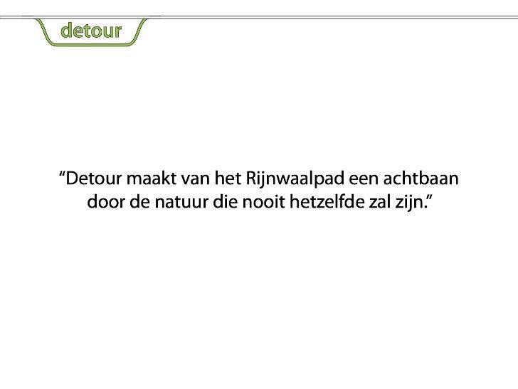 Detour - ppt