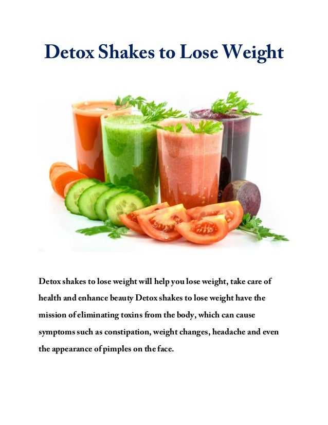 Detox shakes to lose weight how to lose up to 4 kg in 5 days 3 re 3 ccuart Image collections