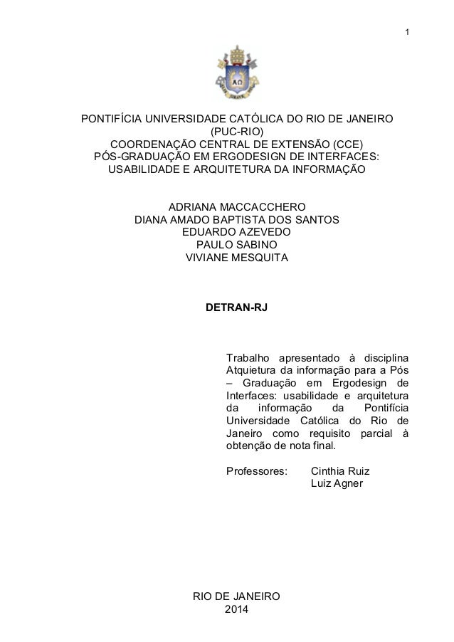 1  PONTIFÍCIAUNIVERSIDADECATÓLICADORIODEJANEIRO (PUCRIO) COORDENAÇÃOCENTRALDEEXTENSÃO(CCE) PÓSGRADUAÇ...